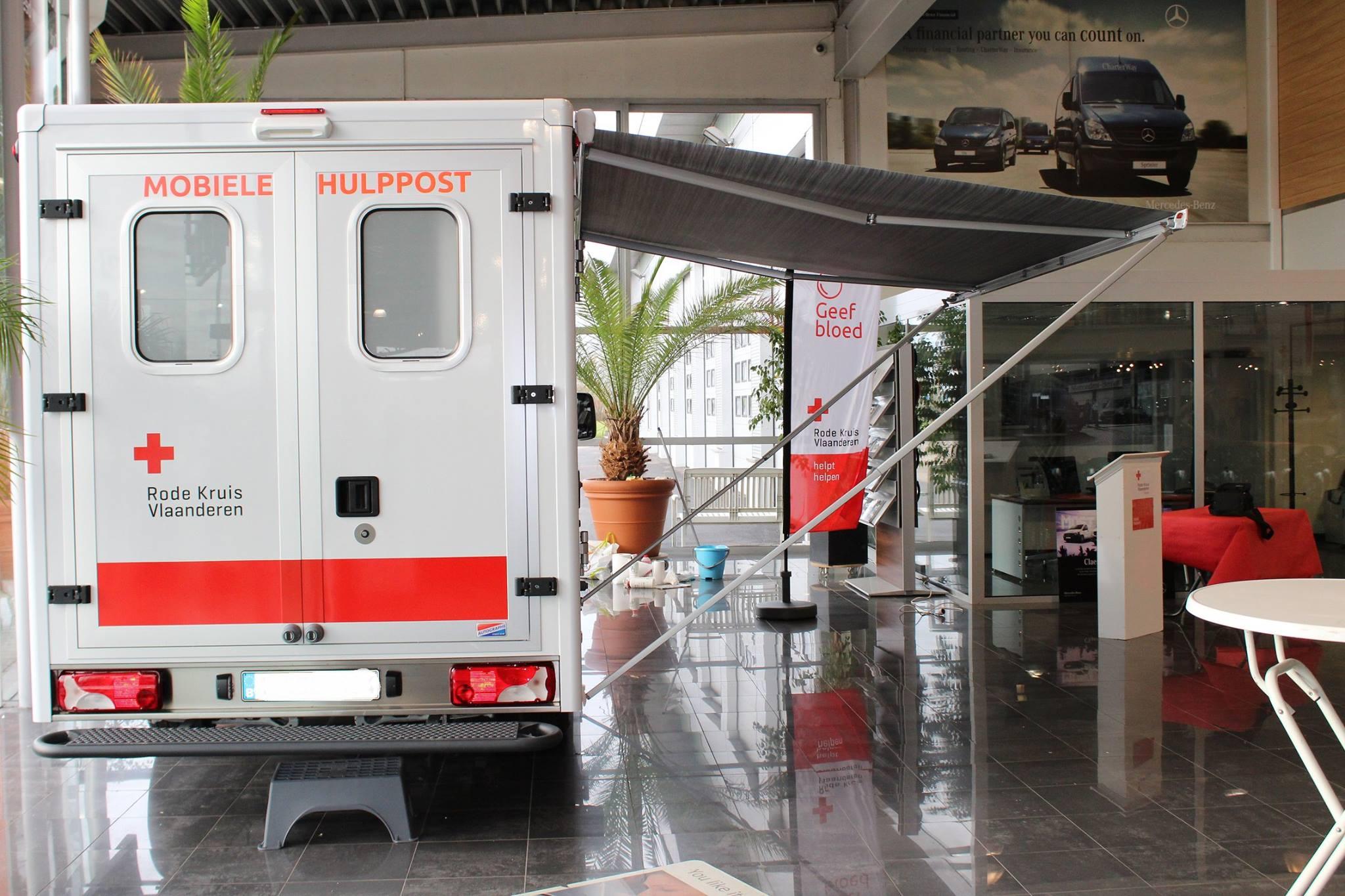 mobiele hulppost Rode kruis Tienen